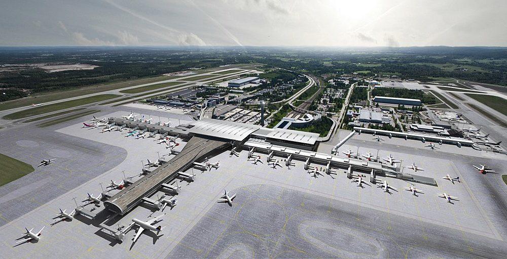 Flughafen Gardermoen – Erweiterung der Steuerungssoftware – Zumtobel eBOX